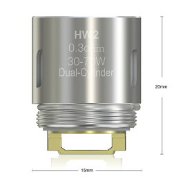 【メール便で送料無料】Eleaf HW2Head 5個入りセット 電子タバコ アトマイザーヘッド VAPE