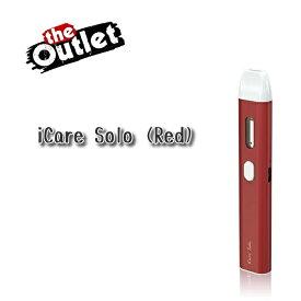 【訳アリ】【メール便送で料無料】Eleaf iCare Solo[Red] スターターキット[アイケアソロ]電子たばこ 電子タバコ セットVAPE