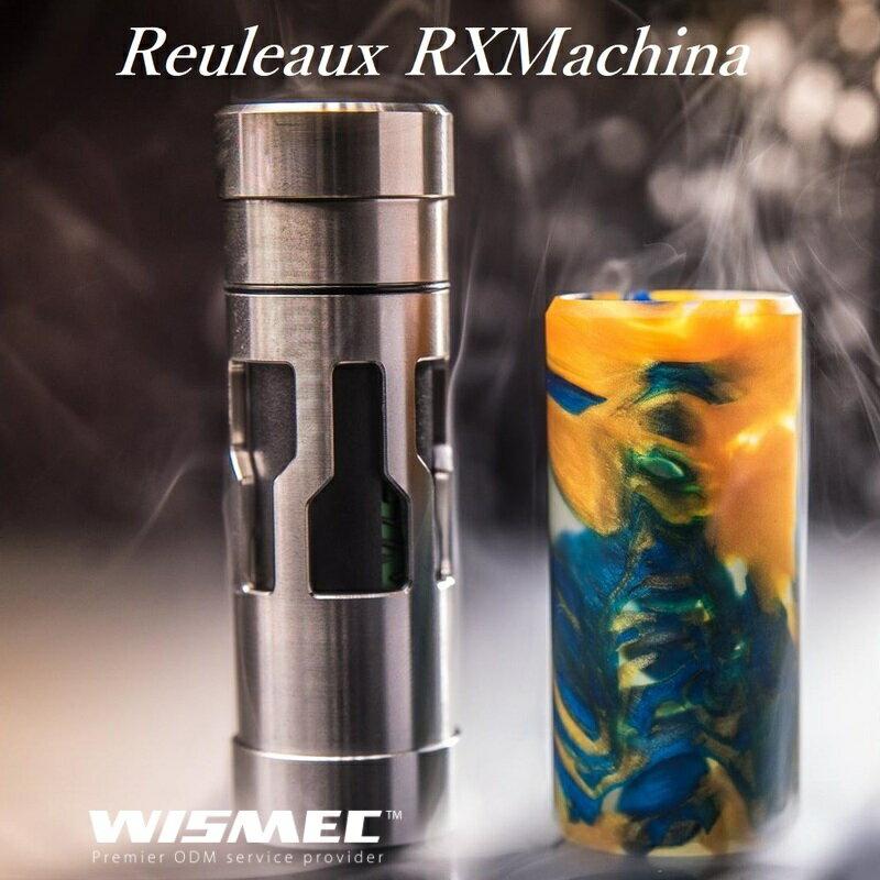 【あす楽】Reuleaux RX Machinaウィズメック ルーローRXマキナ メカニカル MOD  電子タバコ 電子たばこ セット VAPE MOD 【中級者以上の方向け】
