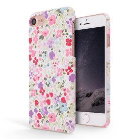 【ほぼ全機種対応/iPhone新機種対応】iPhone Xs ケース/iPhone8 ケース/XPERIA XZ2/XZ2 Premium/GALAXY S9/GALAXY S9 PLUS/AQUOS R2/HUWAEI p20 lite/DIGNO J/LG style L-03K/Android ONE X4/ONE S2 zenfone ハードケース カラフル 花柄 シンプル 背面 ピンク