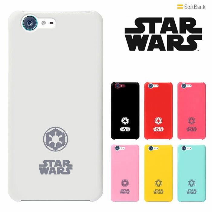 STAR WARS mobile ケース スターウォーズ モバイル Softbank AQUOS STAR WARS mobile ケース スマホケース  カバー/ハードケース