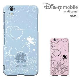 e19a23f53c Disney Mobile on docomo DM-01Jケース ディズニーモバイル DM01Jカバー DM01J スマホカバー スマホケース ハード