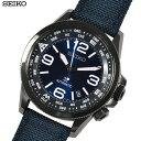 【あす楽】 SEIKO セイコー 腕時計 SRPC31K1 プロスペックス PROSPEX オートマチック 自動巻き ネイビー クロス×レザー メンズ 両回転インナーベゼル【逆輸入】【海外モデル】 青