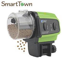 Aurara 給餌器 自動給餌器 餌やり器 魚 フードタイマー 配給量調節可能