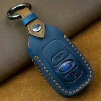 スマートキーケーススバル新型フォレスター新型レヴォーグインプレッサキーケース本革レザー3ボタントランクボタン対応メンズレディーススバルレヴォーグキーケーススバルフォレスターキーケース車の鍵リレーアタック非対応納車祝いプレゼント父の日