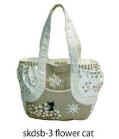 【送料無料】flower cat シンジカトウトートバッグ Shinzi Katoh Design shopping bag