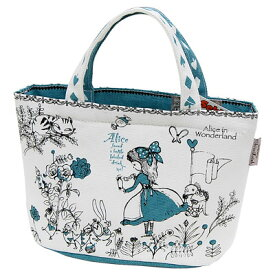 アリス かわいい保冷ランチバッグ シンジカトウ BLUE ALICE cute lunch bag Shinzi Katoh design xHB