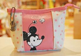 ピンク シンジカトウxミッキー&ミニー コラボ三角ポーチ pink Shinzi Katoh x Michy /Minny triangle poach (EU506PK)