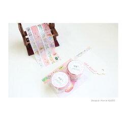 MANETマネットバンビシリーズマスキングテープ15mm(30cm柄)x7mBambimaskingtape