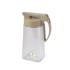 エンバランス 冷水筒 耐熱 スライド式タテヨコピッチャー 2.1L 水差 洗いやすい
