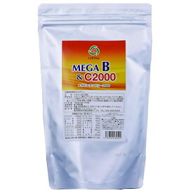 MEGA B&C 2000 180g(3g×60袋)ビタミンサプリ 栄養機能食品 (ビオチン) メガビーアンドシー