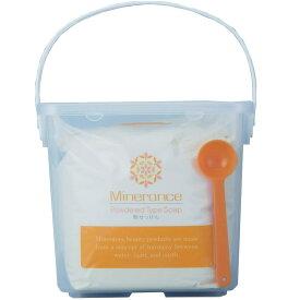 ミネランス ソープ 粉石鹸 1kg 容器付