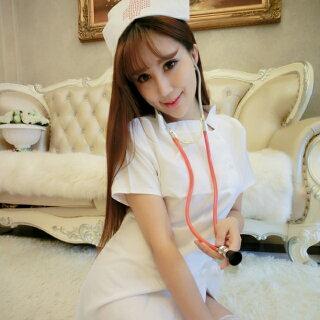 コスプレ人気のナース服!NS-1ピンク・白ナース医者看護婦衣装仮装ハロウィンクリスマス