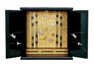 【国産】 激安 ミニ仏壇 さが 大サイズ  ※ご注文いただいてから約1週間後のお届けとなります。
