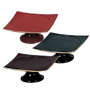【仏具】供物台 木質FPC - サイズは3.5寸と4.5寸の2種類と溜・黒・朱の3カラーからお選びいただけます。
