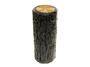 サンポリ プラスティック擬木 はなえ80φ 一本杭 H200 お庭の縁取り diy 花壇 囲い 土留め ブロック 仕切り フェンス 柵 ガーデニング 樹脂製 プラ 擬木 Flowerbed Artificial Wood