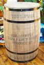 コナコーヒー木樽(茶) XLサイズ ※フタ別売☆おしゃれ 樽 ハワイアン雑貨 ハワイ雑貨 アメリカン雑貨 アメリカ雑貨 インテリア 収納 木箱 コーヒー バレル 木樽
