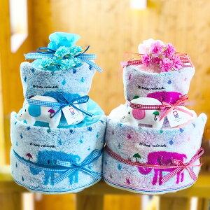 おむつケーキ 送料無料 男の子 女の子 オムツケーキ ダイパーケーキ CAKE 出産祝 出産祝い ゾウ 送料込み 楽ギフ包装
