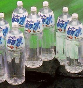 スーパー保存水 1.5L【1ケース8本入り】【P2】/【ポイント 倍】