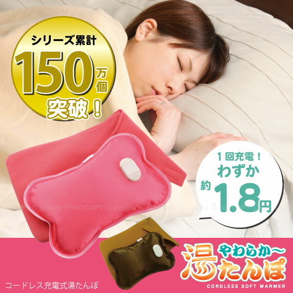 充電式 湯たんぽ/ やわらか〜湯たんぽ[ソフト断熱材入り保温袋付き]/【ポイント 倍】