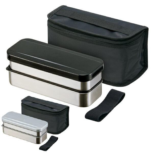 ステンレス 弁当箱 2段 / 保冷ランチバッグ付 ステンレス2段ランチボックス 740ml /【ポイント 倍】