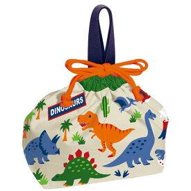 お弁当袋 恐竜 巾着袋 / ランチ巾着 ディノサウルス/【ポイント 倍】【普通郵便送料無料】