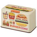 マスクストッカー バーガーコンクス ミックス/BURGER CONX ハンバーガー ポテト マスク ストッカー 使い捨てマスク 収納 60枚 ワンプッ…