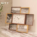 フォトフレーム 時計 / BIT7 ビット セブン【P10】/10P03Dec16