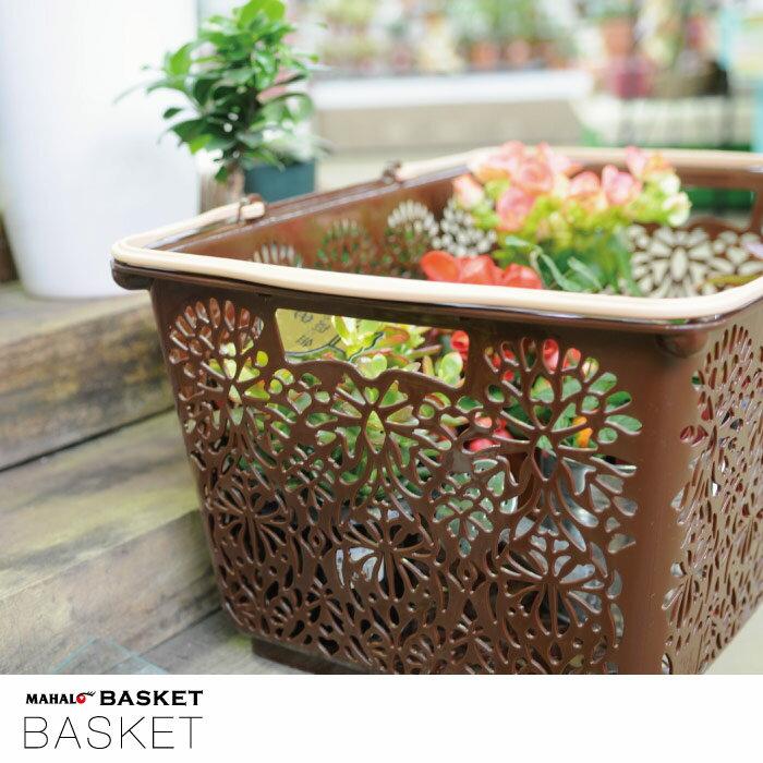 買い物かご プラスチック / MAHALO BASKET マハロバスケット 【P10】/10P03Dec16