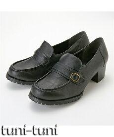ローファーパンプス(制菌・消臭・低反発中敷)(選べるワイズ)4E 5E 23.5cm-26.5cm 靴(シューズ) 大きなサイズ 30代 40代 50代 女性 大きいサイズ レディース フォーマル 痛くない