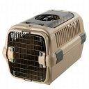 【訳あり】ペットグッズ ドッグ リッチェルキャンピングキャリー ダブルドア M ブラウン小型犬用(体重目安:8kg以下)(いぬ、犬、…