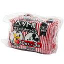 【訳あり】ペットケア スリーアローズ おでかけペット用ウェットティッシュ ミッキーマウス 30枚入X3個(いぬ、犬、イヌ)(ねこ、猫、…