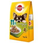 【訳あり】(ペット10倍)ドッグフード ペディグリーパウチ賞味期限:2021年6月29日以降11歳から用 ビーフ&緑黄色野菜&チーズ 70g×3袋(いぬ、犬、イヌ)(パウチ、ウェットフード、ペットフード)