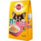 【訳あり】(ペット10倍)ドッグフード ペディグリーパウチ賞味期限:2021年6月30日11歳ささみ&緑黄色野菜 70g×3袋(いぬ、犬、イヌ)(パウチ、ウェットフード、ペットフード)