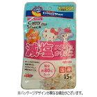 キャットフードドギーマンキャティースナックバリューたい風味の減塩スライスかまぼこ15g