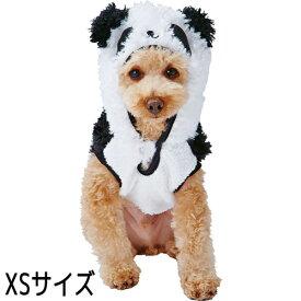 【訳あり】 ペットグッズ ドッグ ペティオ犬用 変身パーカー パンダ XS(いぬ、犬、イヌ)(コスプレ、ぱんだ)(超小型犬、小型犬)【クリックポスト可】