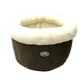 【訳あり】ペットグッズ ドッグ キャット サンメイト キトンドリーム ドラムベッド ブラウン(いぬ、犬、イヌ)(ねこ、猫、ネコ)