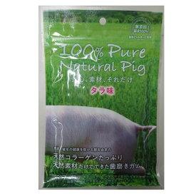 【訳あり】(ペット10倍)ドッグフード TFBファクトリーズ賞味期限:2019年9月1日以降100% Pure Natural Pig豚皮ガム タラ味 12本(いぬ、犬、イヌ)(おやつ、間食用、ペットフード)
