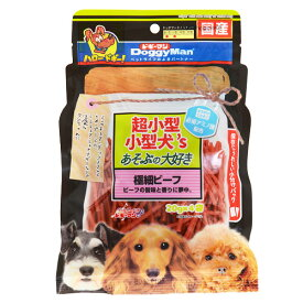 【訳あり】(ペット10倍)ドッグフード ドギーマン賞味期限:2019年8月超小型小型犬's あそぶの大好き極細ビーフ 20gX4袋(いぬ、犬、イヌ)(おやつ、スナック、間食用、ペットフード)