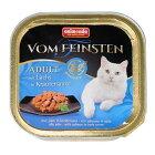 キャットフードアニモンダフォムファインステンディッシュwithソースサーモン・ハーブソース100g(ねこ、猫、ネコ)(ウェットフード、ペットフード)