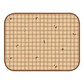 【訳あり】ペットグッズ 明和グラビアペットにやさしい防滑防臭マット INSF-03(ライトブラウン)65cm×90cm 1枚入 (いぬ、犬、イヌ)(ねこ、猫、ネコ)