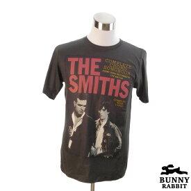 【8/9 1:59まで!ポイント5倍】デザインTシャツ BUNNY RABBIT The Smiths ザ・スミス ビンテージ風 UK ポスト・パンク ロック バンド フェス 黒 ブラック