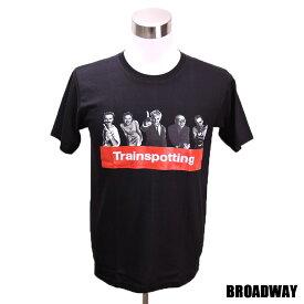 デザインTシャツ Broadway Trainspotting トレインスポッティング 映画Tシャツ プリントTシャツ グッズ 洋画 ユアン・マクレガー Tシャツ メンズ レディース サイズM&L