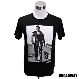 デザインTシャツ Broadway Mad Max2 マッドマックス2 映画Tシャツ プリントTシャツ グッズ 洋画 メル・ギブソン ジョージ・ミラー Tシャツ メンズ レディース サイズM&L