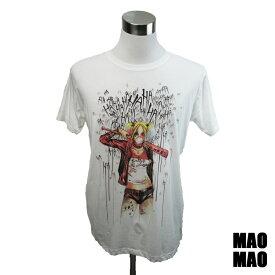 デザインTシャツ MAOMAO Harle Quin ハーレイ・クイン Tシャツ 映画Tシャツ プリントTシャツ グッズ スーサイドスクワッド DCコミック Tシャツ メンズ レディース サイズS&M&L