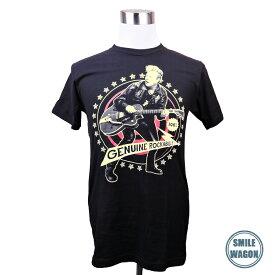 バンドTシャツ Brian Setzer ブライアン・セッツァー ロカビリー プリントTシャツ グッズ ロックT フェス ファッション 洋楽 Tシャツ メンズ レディース 黒T ブラック