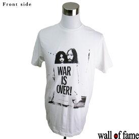 バンドTシャツ Wall of fame John Lennon&Yoko Ono ジョン・レノン&オノ・ヨーコ 音楽 プリントTシャツ グッズ ロック 洋楽 Tシャツ メンズ レディース サイズM&L
