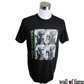 【8/9 1:59まで!ポイント5倍】バンドTシャツ Wall of fame The Smiths ザ・スミス 音楽 プリントTシャツ パンクロック ロックT フェス ファッション 洋楽 Tシャツ メンズ レディース サイズM&L