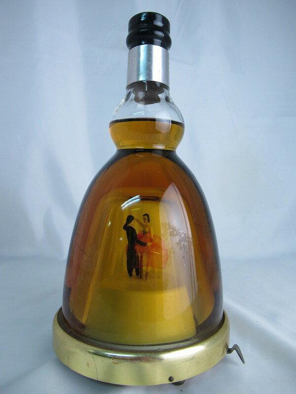 ※訳有(オルゴール稼働不可) TOYO Dancing Bottle Whisky 45 東洋醸造 ダンシグボトル ウィスキー【中古】(未開封品)