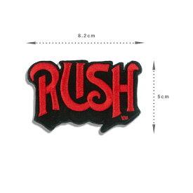 Rush ラッシュ デザインアイロンワッペン パッチ [雑貨 プログレッシブロック ロック バンド レジェンド 音楽 グッズ ファッション] お手軽 アレンジ
